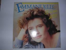 """MAXI -  EMMANUELLE -  AB 887372  """" ET SI UN JOUR """"  + 1 - 45 T - Maxi-Single"""