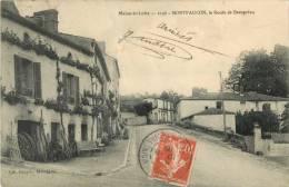 49 MONTFAUCON - LA ROUTE DE BEAUPREAU - France