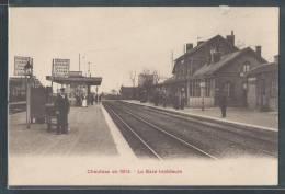 - CPA 80 - Chaulnes, La Gare Intérieure En 1914 - Chaulnes