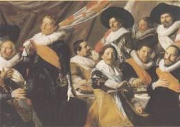 Frans Hals - Maaltijd Van De Officieren Van De Sint Jorisschutterij, 1627 - Frans Hals Museum - Haarlem - Schilderijen
