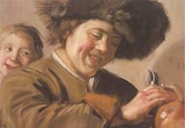 Frans Hals - Twee Lachende Jongens, C.1628 - Frans Hals Museum - Haarlem - Schilderijen