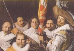 Frans Hals - Vergadering Van Officiieren En Onderofficieren Van De Cloveniersschutterij, 1633 - Frans Hals Museum - Schilderijen