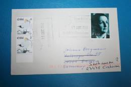 IRELAND IRLAND EIRE 2000 Cover Special Postmark Lisdoonvarna County Clare Millenium Wappen - Irlande