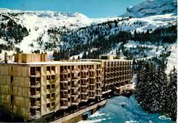 """FLAINE : Alt 1600 - 2500 M. - Immeuble Betelgeuse Et L'hôtel """"Le Flaine"""" - France"""