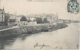 91 Corbeil Les Grands Moulins Vus Du Pont - Corbeil Essonnes