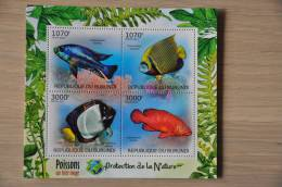 M1-69 ++ 2012 REP. BURUNDI VISSEN FISHES POSSON SWORDFISH - 2010-..: Ongebruikt