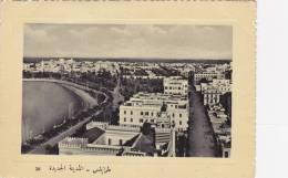 CPA  Tripoli   New City  Panorama - Libye