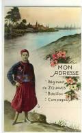 Mon Adresse Régiment De Zouaves - Patriotic