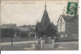 GRUCHET LE VALASSE - La Fontaine - France