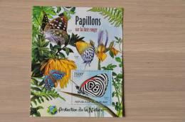 M1-73 ++ 2012 REP. BURUNDI BUTTERFLIES PAPILLONS VLINDERS SCHMETTERLINGEN - 2010-..: Ongebruikt