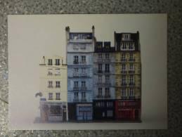 PARIS JAN JUNCA Quai Bourbon - Peintures & Tableaux