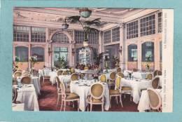 LA HAYE - HOTEL DES INDES -  Le Restaurant  Louis XVI  -  BELLE CARTE  - - Den Haag ('s-Gravenhage)