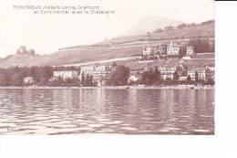 MONTREUX  --  Hôtels Lorins, Gramont Et Continental Avec Le Chatelard - Switzerland