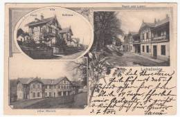 CZECH REPUBLIC - Luhačovice, Hotel Moravia, Year 1905 - República Checa