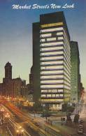 Evening View, Glass And Aluminum Crown Zeller-Bach Building, Market Street, San Francisco, California, 40-60´s - San Francisco