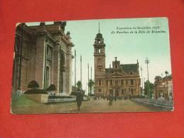 BRUXELLES  EXPOSITION 1910  -  Pavillon De La Ville De Bruxelles - Wereldtentoonstellingen