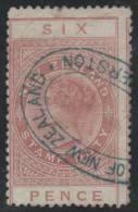 NUEVA ZELANDA 1882/914 - Yvert #2 (Taxas) - VFU - Fiscal-postal