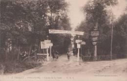 LE TOUQUET - PARIS PLAGE - Entrée De La Forêt 1924 Dép62 (banderole Concours Hippique Animée) (2scans) - Le Touquet