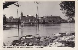 CPSM KOBLENZ COBLENCE LE GOUVERNEMENT MILITAIRE 1949 - Koblenz