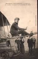 Fêtes D'aviation Nancy-Jarville, 7 Et 8 Avril 1912 - 11 Loridan à Son Poste De Vol Sur Son Biplan H. Farman - France