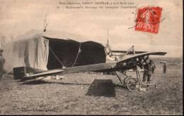 Fêtes D´aviation Nancy-Jarville, 7 Et 8 Avril 1912 - 16 Mademoiselle Marvingt Sur Monoplan Deperdussin - France