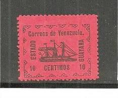 Ven.Mi.020 Revolution1905 10 Centimos GUAYANA,   MH,Falz * - Venezuela