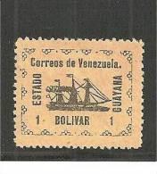 Ven.Mi.023 /  Revolution1905  GUAYANA,   MH, Mit Falz - Venezuela