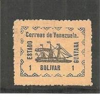 Ven.Mi.023 A /  Revolution1905  GUAYANA,   MH, Mit Falz - Venezuela