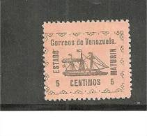 Ven.Mi.034 /  Revolution1905  MATURIN,   MH, Mit Falz - Venezuela
