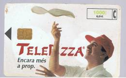 TARJETA TELEFONICA -  Telepizza En Catalan - Unclassified