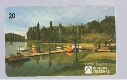 TARJETA TELEFONICA  -  BRASIL Lago Negro - Unclassified