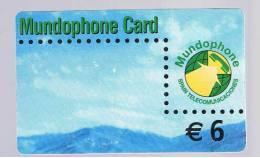 TARJETA TELEFONICA  -  Mundophone - Unclassified