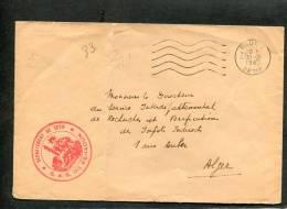 =*= S.A.S. De Feraoun Département De Sétif Oblitération Mécanique Bougie>>>Alger 31 Mars 1962 Cote Maury 80 EUR  =*= - France