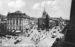 Lausanne - Place Et église St-François - VD Vaud