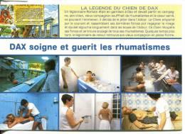 40 DAX : Multivues Des Soins, La Légende Du Chien De Dax - Dax