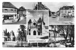 BLANGY-SUR-BRESLE - 9764 - Multivues : Eglise, Grande Rue, Chateau De Rambures, La Bresle - (Edit. Mignon - Prod. Estel) - Blangy-sur-Bresle