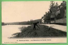 77 SAMOIS-sur-SEIN - Les Platreries Et Le Pont De Valvins - Samois