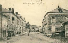 Chémery-sur-Bar - La Grande Rue -1910 ( Voir Verso ) - France