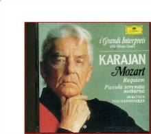 KARAJAN MOZART REQUIEM K626 PICCOLA SERENATA NOTTURNA K525 BERLINER DG - Classica