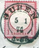 Guben Auf 1 Groschen Rot Nr. 19 - Deutschland