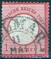 Hufeisen Colmar Auf 1 Groschen Rot Nr. 19 - Deutschland