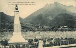 735534 ST PIERRE D ALBIGNY MONUMENT AUX MORTS ET L ARCLUSAZ ST PIERRE D ALBIGNY MONUMENT AUX MORTS ET L ARCLUSAZ - Saint Pierre D'Albigny