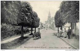 77-BRIE-COMTE-ROBERT- Avenue   Thiers-  Animée - Brie Comte Robert