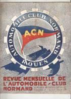 Automobile Club Normand Rouen 24 Pages - 1900 - 1949