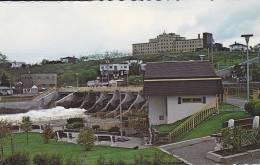 The Mathieu D'Amours Hydroelectric Dam On The Matane River, Quebec, Canada, 40-60´s - Quebec