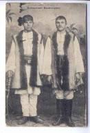 Bukowina Bauerntypen Used 1916  (ro019)  Tracht Costume - Rare Ustasa Croatian Mark - Rumänien