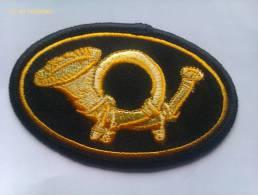 Parche Sombrero De Oficial De Infantería. Guerra De Secesión. 1861-1865. Estados Unidos De América. El Norte. - Escudos En Tela
