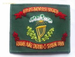 Parche 69 Regimiento Brigada Irlandesa De Nueva York. Guerra De Secesión. 1861-1865. Estados Unidos De América. El Norte - Escudos En Tela