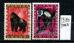 RUANDA ORUNDI - Year 1980 - No Serie - Nuovi Con Tracce  Di Linguella - News. - Rwanda