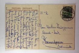 Germany: Elsas/Elzas German Occupation Postkarte Mulhausen To Bremerhaven, 1909 - Briefe U. Dokumente